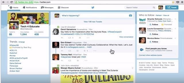 twitter-21 century learning